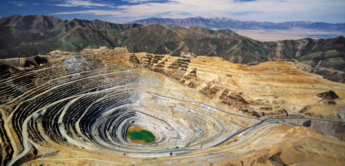 A copper mine
