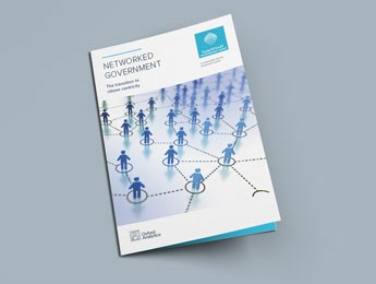 "Front page of Oxford Analytica's ""Networked Government"" report"