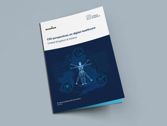 CIO Perspectives on digital healthcare UKI cover
