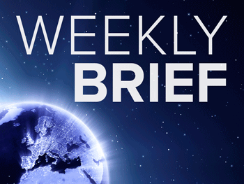 Snapshot of weekly brief
