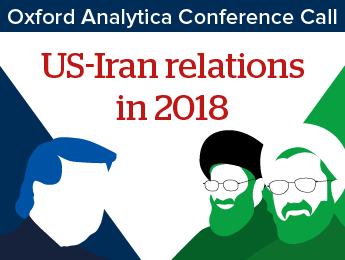 US-Iran relations in 2018