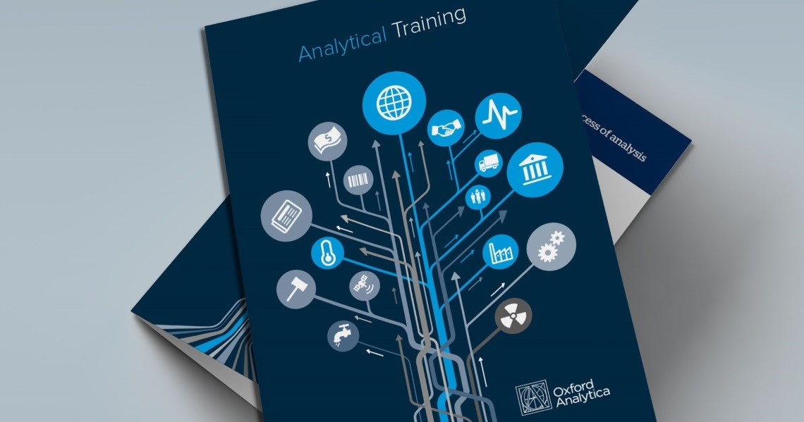 Analysis training brochure