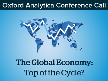 The Global Economy: Top of the Cycle?