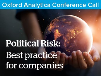Political Risk: Best practice for companies