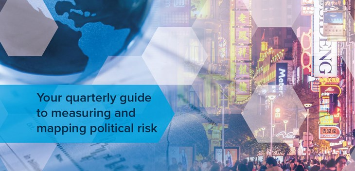 Your quarterly guide to measuring and mapping political risk
