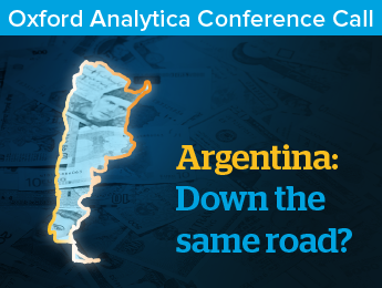 Argentina: Down the same road?